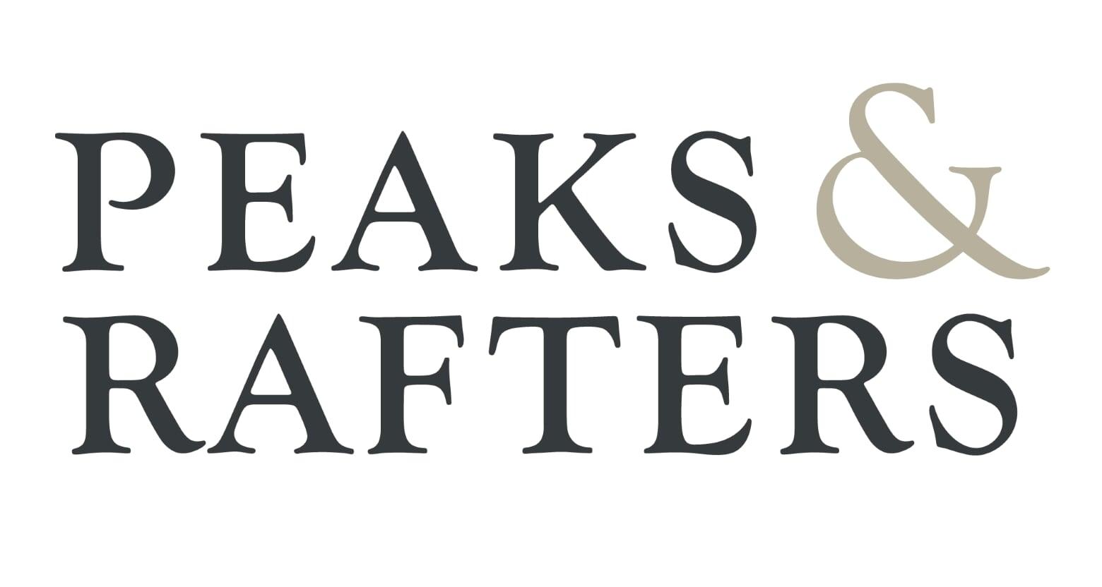Peaks & Rafters Logo